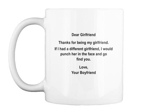 Dear Girlfriend Thanks For Being My Girl Dear Girlfriend Thanks