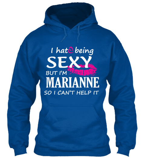 Tshirt Of Marianne, Sexy Marianne Royal T-Shirt Front