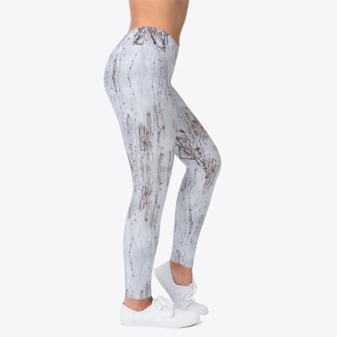 Snow Camo Leggings Standard T-Shirt Right