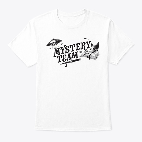 Mystery Team Inc   White White T-Shirt Front