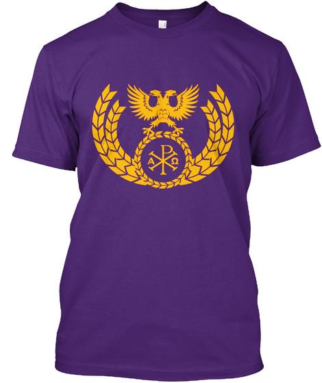 A P Purple T-Shirt Front