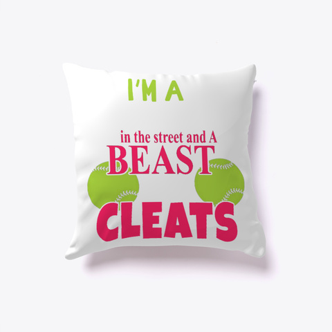 Beauty And Beast Pillow Cover White T-Shirt Front