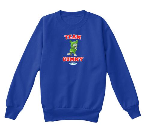 Team Gummy Est 2007 Deep Royal  T-Shirt Front