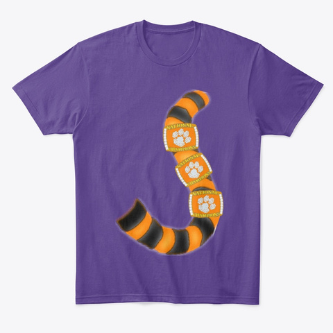 Tiger Tales Purple T-Shirt Front