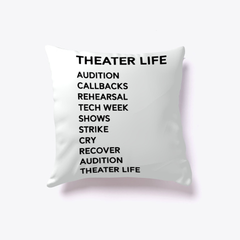 Funny Drama Broadway Musical Theater Standard T-Shirt Front