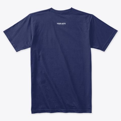 N/A Midnight Navy T-Shirt Back