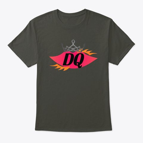 Dq Smoke Gray T-Shirt Front