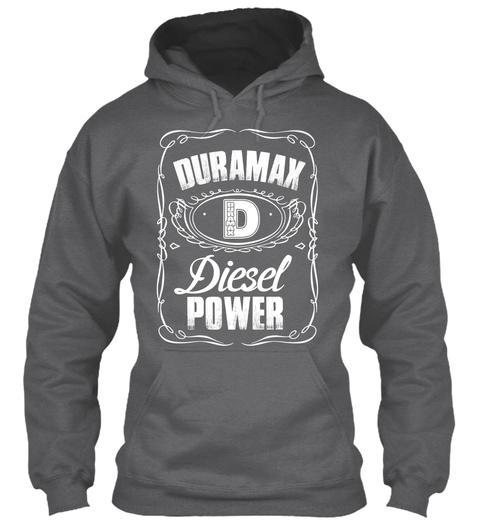 Duramax Diesel Power Dark Heather T-Shirt Front