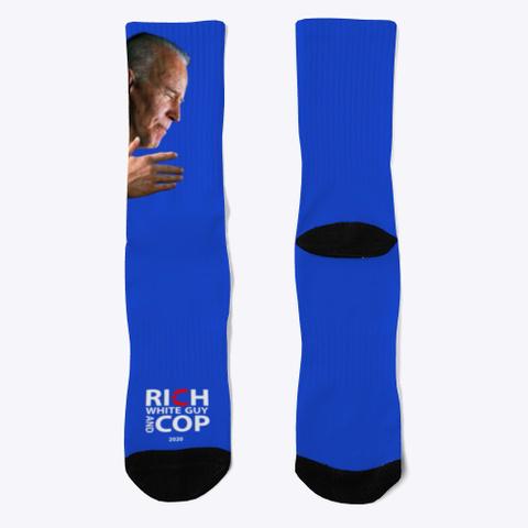 Biden Socks Royal Blue T-Shirt Front
