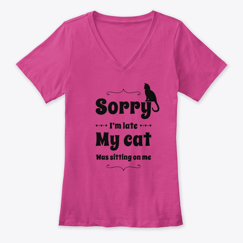 Sorry, My Cat Berry T-Shirt Front