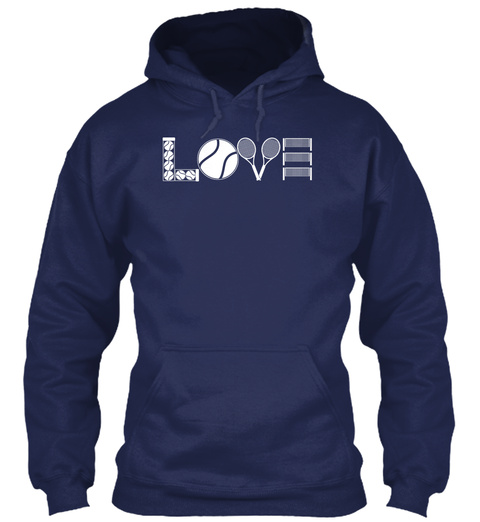 Love Navy T-Shirt Front