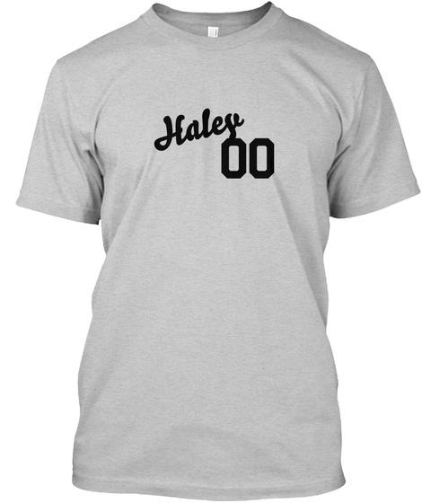 Haley Varsity Legend Light Steel T-Shirt Front