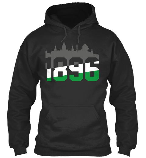 1896 Jet Black Sweatshirt Front
