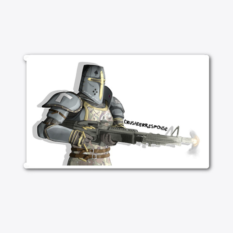 Crusader Response Stickers Standard T-Shirt Front