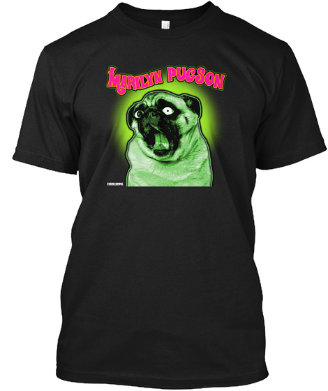 Marilyn Pugson Black T-Shirt Front