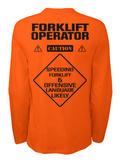 5238cb26d Forklift Operator Safety - FORKLIFT OPERATOR CAUTION SPEEDING ...