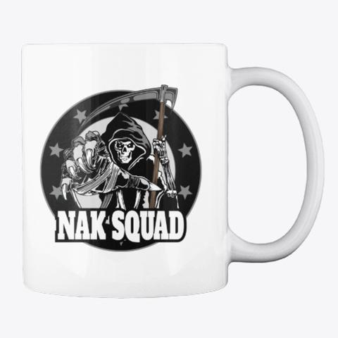 Nak Squad And Nak Donor Mug White T-Shirt Back