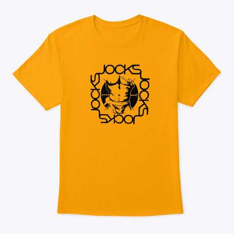 Jocks Gold T-Shirt Front