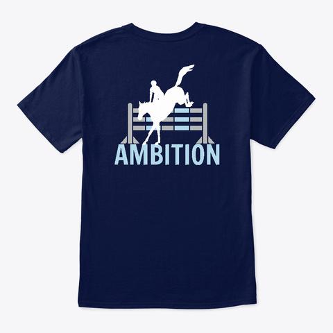 Ambition Navy T-Shirt Back