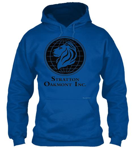 Stratton Oakmont Inc Royal T-Shirt Front