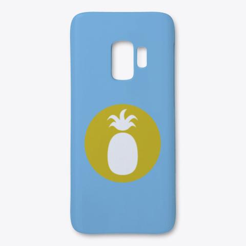 Ananas Designs Light Blue T-Shirt Front