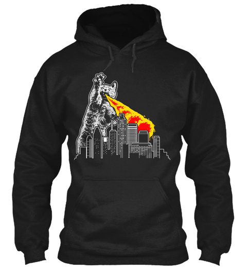 8. CATZILLA HOUSTON Unisex Tshirt