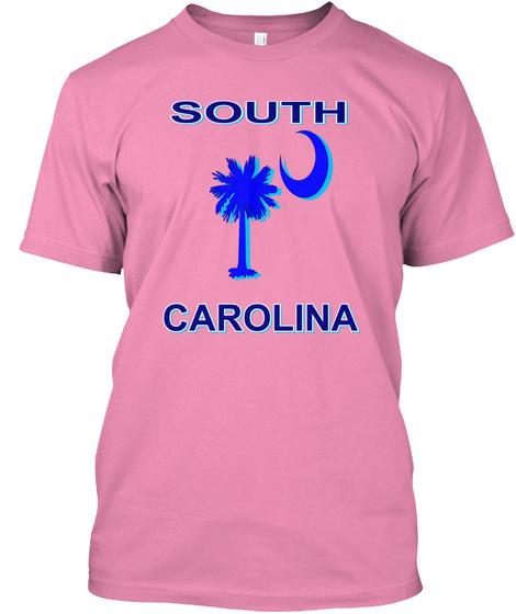 South Carolina Pink T-Shirt Front