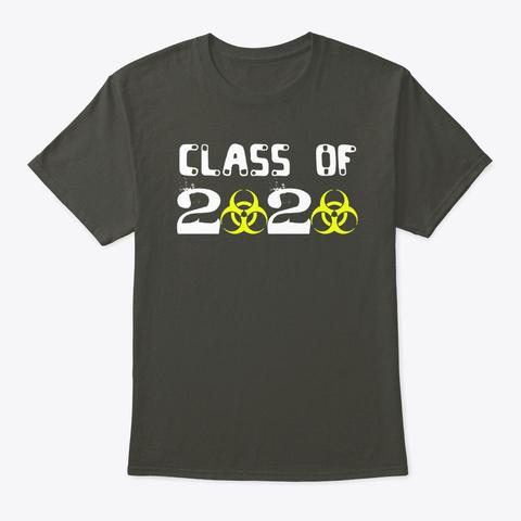 Class Of 2020 Smoke Gray T-Shirt Front