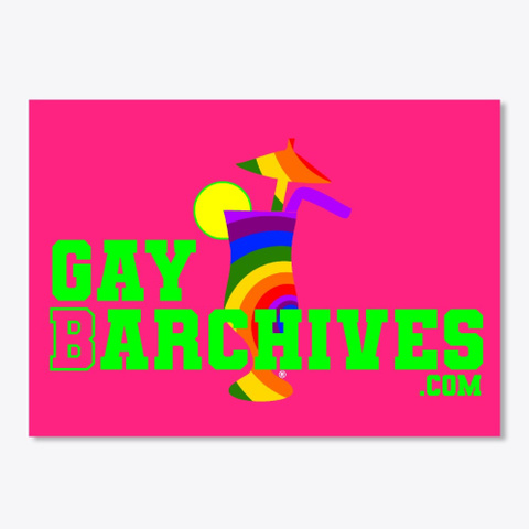 Gay Barchives Hot Pink Camiseta Front
