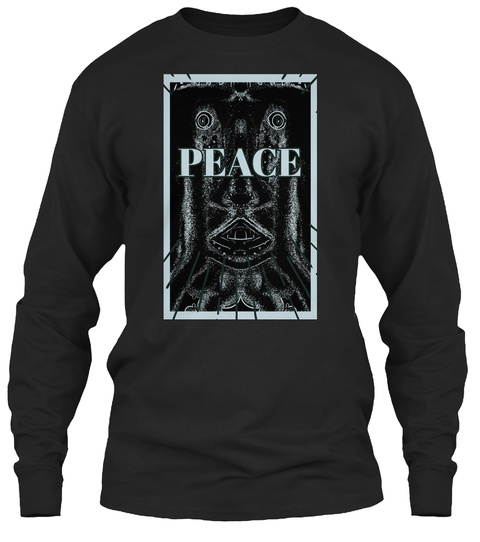 A Sanfransico Artist Ricky R Uptergrove  Black T-Shirt Front