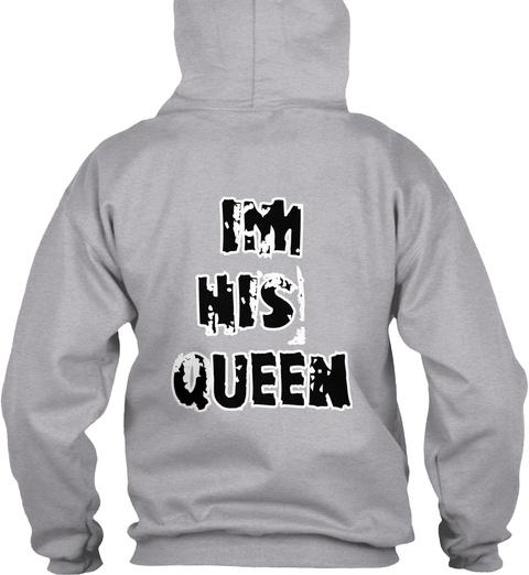 Im His Queen Sport Grey T-Shirt Back