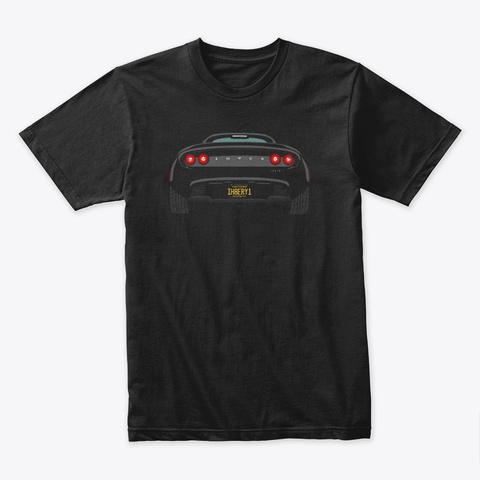 The Dark Elise Black T-Shirt Front