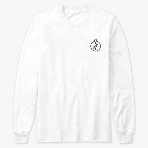 Exploring  White T-Shirt Front