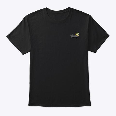 Put Purpose (Pink Superchick!) Black T-Shirt Front