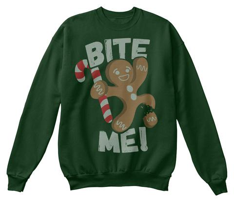 Bite Me Deep Forest  T-Shirt Front