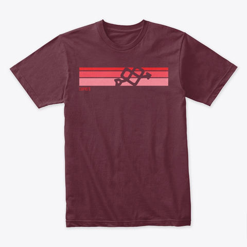 Cupid's 2019 Nf Awareness Month Tee Maroon T-Shirt Front