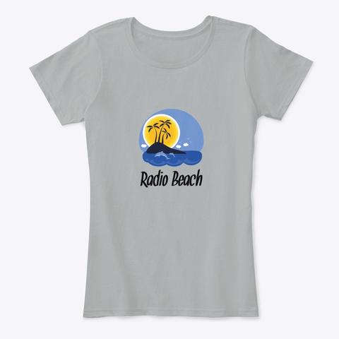 Radio Beach Bahamas Grey T-Shirt Front