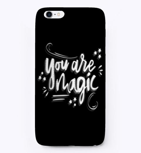 I Phone Case: Magic Black T-Shirt Front