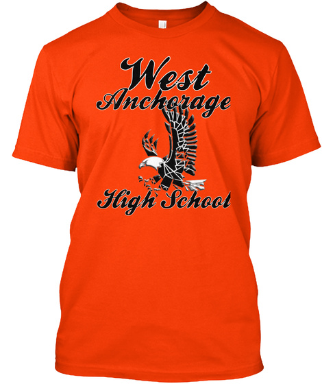 West Anchorage Eagles Unisex Tshirt