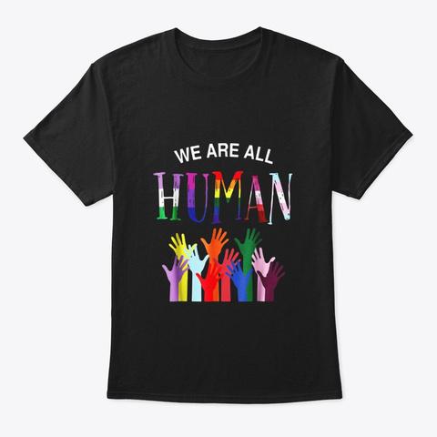 Lgbt Flag For Gay Pansexual Transgender Black T-Shirt Front