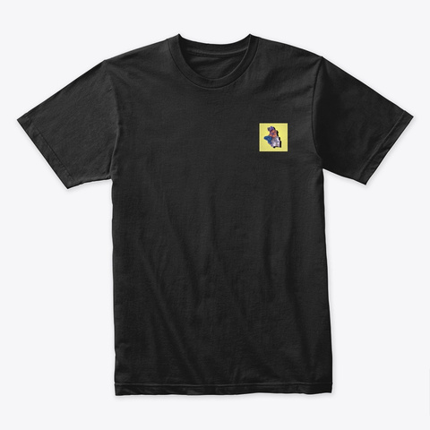 A.N.T.I. Productions Gear Black T-Shirt Front