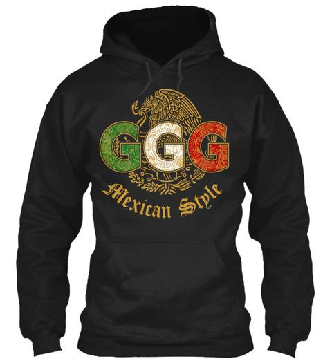 Ggg Alexician Style Black Sweatshirt Front