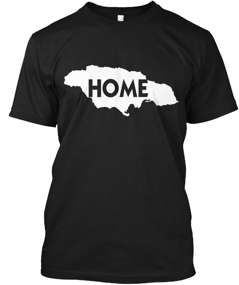 Home Black Camiseta Front