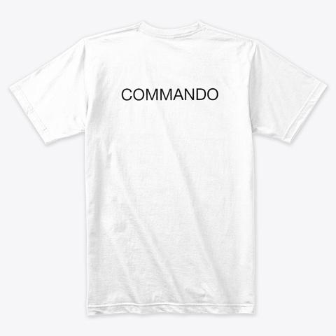 Ckc  White T-Shirt Back
