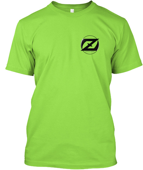 Landscaping Tshirts Lime T-Shirt Front