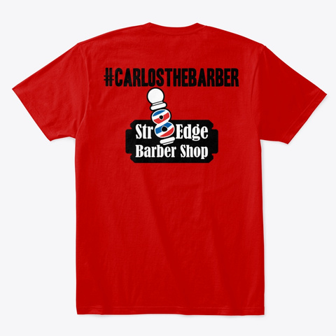 Carlos Classic Red T-Shirt Back