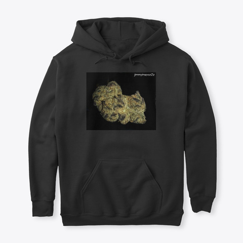 Jimmyinspaz Zz 'do Si Dos' Cannabis Black T-Shirt Front