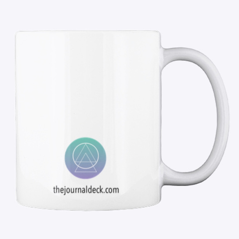 Journal And Chill Mug White Mug Back